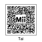 QR Code for Tai Kamiya by Thatwelshgirl