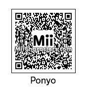 QR Code for Ponyo by zebedy129