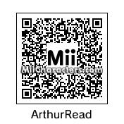 QR Code for Arthur Read by Ean173