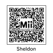 QR Code for Sheldon Cooper by cleonm
