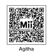 QR Code for Agitha by technickal