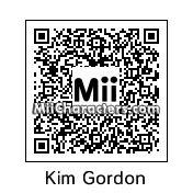 QR Code for Kim Gordon by Ajay