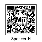 QR Code for Spencer Hastings by RosaFlora774