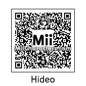 QR Code for Hideo Kojima by J1N2G