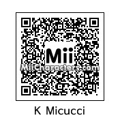 QR Code for Kate Micucci by BJ Sturgeon