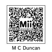 QR Code for Michael Clarke Duncan by BJ Sturgeon