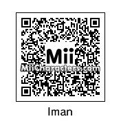 QR Code for Iman Bowie by CWatts