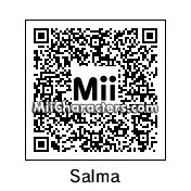 QR Code for Salma Hayek by BJ Sturgeon