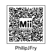 QR Code for Philip J. Fry by RosaFlora774