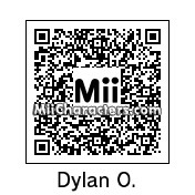 QR Code for Dylan O'Brien by Wariox64