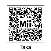 QR Code for Taku Sugioka by J1N2G