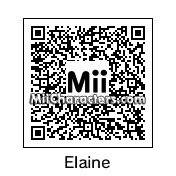 QR Code for Elaine Benes by Chopsuey