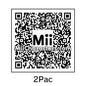 QR Code for Tupac Shakur by CB