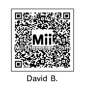 QR Code for David Byrne by BJ Sturgeon