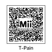 QR Code for T-Pain by Vicky