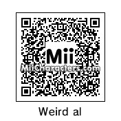 QR Code for Weird Al Yankovic by Alien803