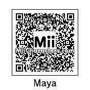 QR Code for Maya by Brunosky Inc