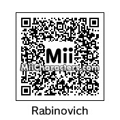 QR Code for Daniel Rabinovich by Pizbet