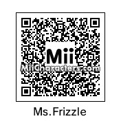 QR Code for Ms. Valerie Frizzle by Retrotator