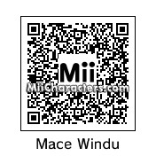 QR Code for Mace Windu by Slug Boy