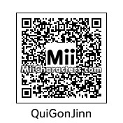 QR Code for Qui-Gon Jinn by Slug Boy