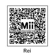 QR Code for Rei Ayanami by ChuckK