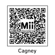 QR Code for James Cagney by Ali