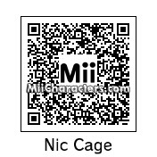 QR Code for Nicholas Cage by Sir Jolteon