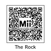 "QR Code for Dwayne ""The Rock"" Johnson by albert"