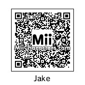 QR Code for Jake the Dog by Josevibaeza