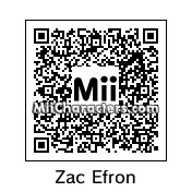 QR Code for Zac Efron by Messy