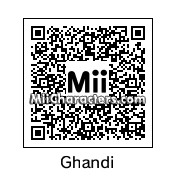 QR Code for Ghandi by NinjaNomad196