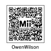 QR Code for Owen Wilson by heather