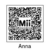 QR Code for Princess Anna of Arendelle by technickal