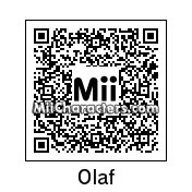 QR Code for Olaf the Snowman by technickal