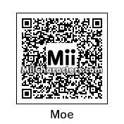 QR Code for Moe Howard by heather