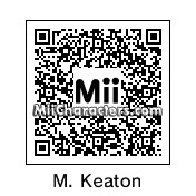 QR Code for Michael Keaton by Audrey