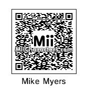 QR Code for Mike Myers by Audrey