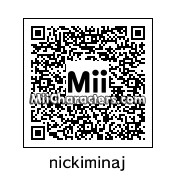 QR Code for Nicki Minaj by KarisalynnCool