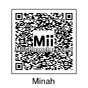 QR Code for Minah by damone