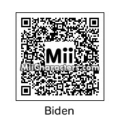 QR Code for Joe Biden by Tocci