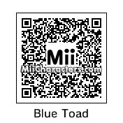 QR Code for Blue Toad by gmandres79