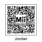 "QR Code for Michael ""Air"" Jordan by Tocci"