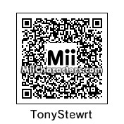 QR Code for Tony Stewart by Hedgie
