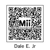 QR Code for Dale Earnhardt, Jr. by Hedgie