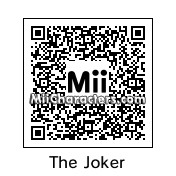 QR Code for The Joker by J1N2G