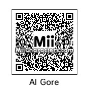 QR Code for Al Gore by Carlo�s
