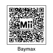 QR Code for Baymax by DestinyMan