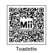 QR Code for Toadette by ZeroSuitSammie
