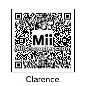 QR Code for Clarence by J1N2G